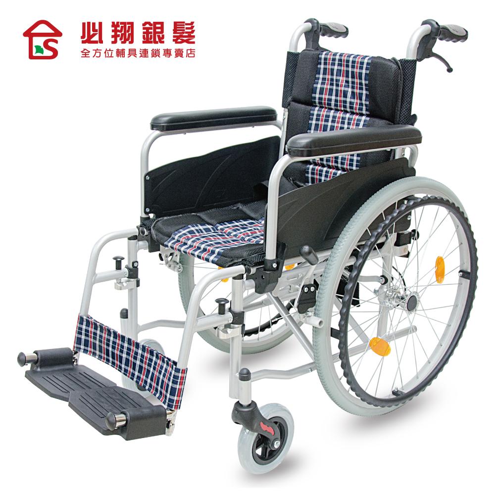 必翔銀髮 PH-153移位式輪椅-15吋座寬 (未滅菌)