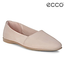 ECCO INCISE ENCHANT 超柔軟牛皮兩穿懶人鞋-粉