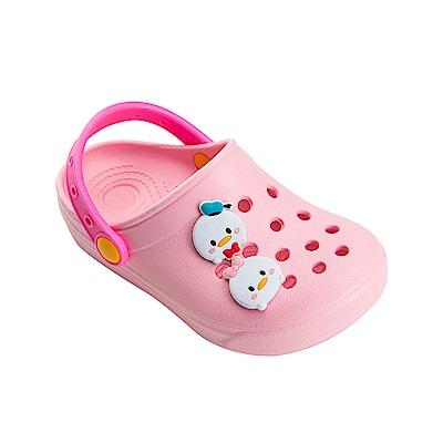 迪士尼童鞋 TsumTsum 米奇家族 輕量防水涼鞋-粉