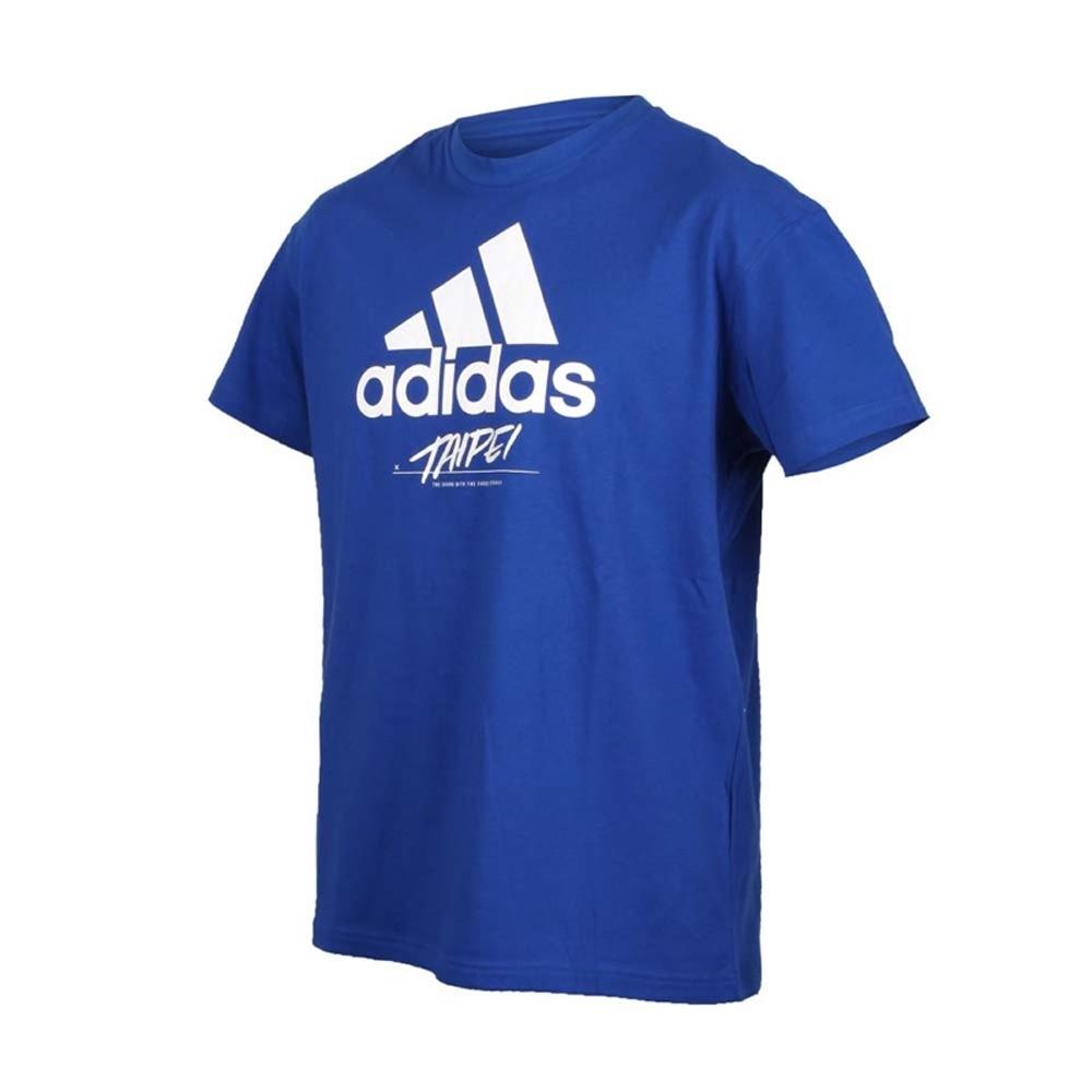 ADIDAS TAIPEI JOCKTAG 藍 短袖上衣-GL6490
