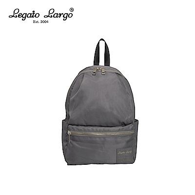 Legato Largo 10口袋後背包-小-灰 LH-H1673TWGY