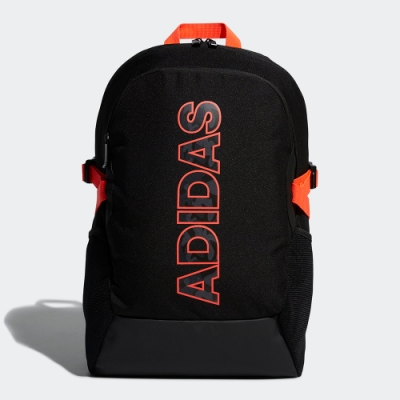 ADIDAS 休閒 運動 大容量 後背包 黑橘 FM6905 Power Graphic Backpack