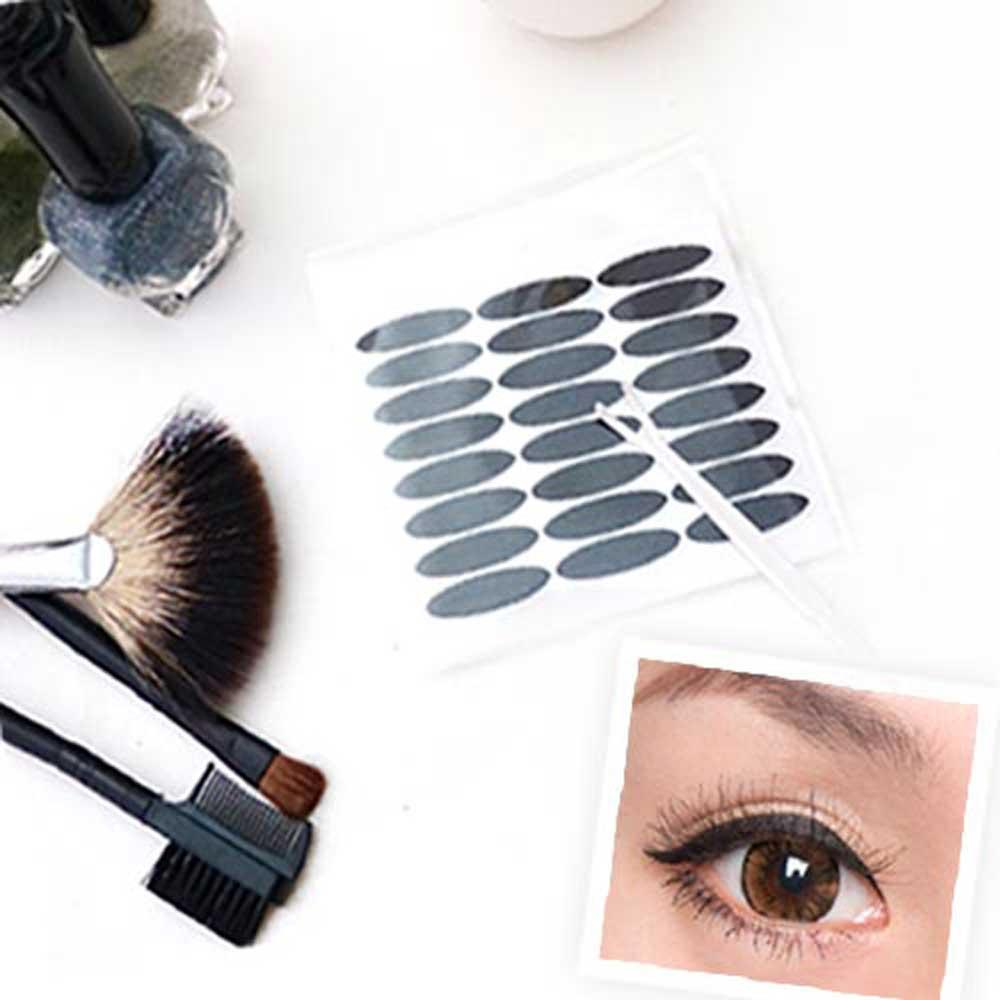 Kiret韓國雙眼皮貼眼線貼(黑色)寬版3mm不反光自然款-超值144枚入贈Y型棒