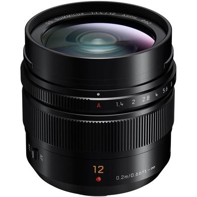 Panasonic LEICA DG SUMMILUX 12mm F1.4 ASPH. 大光圈定焦鏡頭 公司貨
