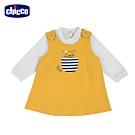 chicco-TO BE Baby-兩件式背心裙套裝-黃