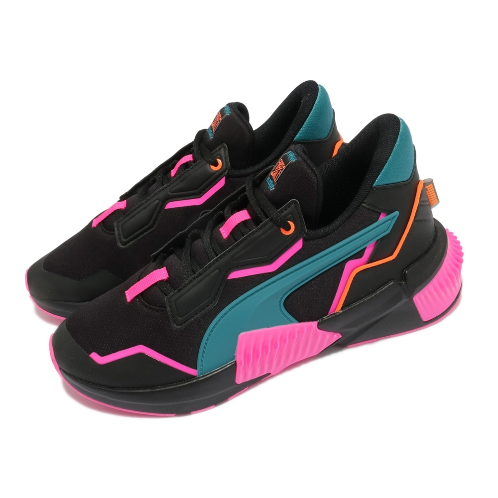 Puma 休閒鞋 Provoke XT FM Xtreme 女鞋 海外限定 老爹鞋 撞色 百搭 流行 黑 粉 19411001
