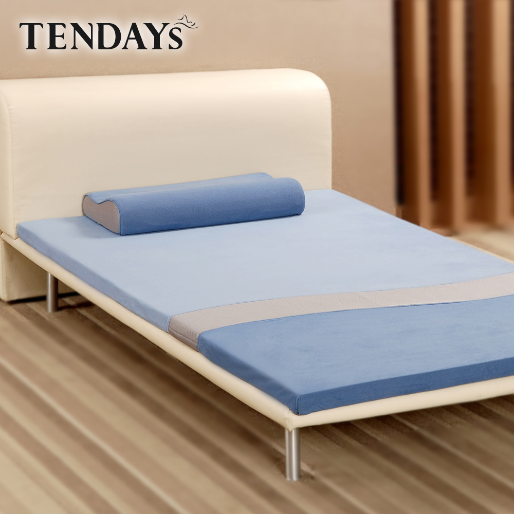 [TENDAYS] 絕版出清 舒活減壓床墊3尺標準單人(雙面可睡)不含枕