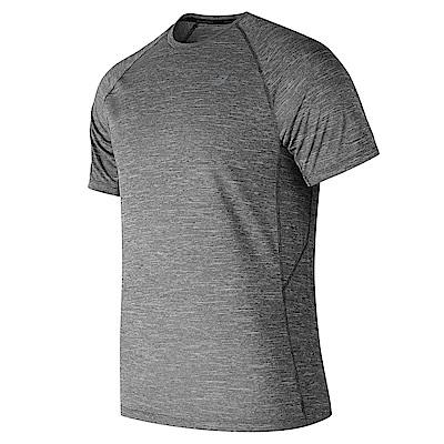 New Balance 短袖上衣  AMT81095HC 男性 灰色