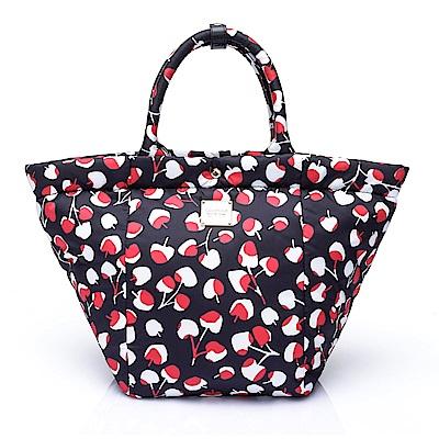 VOVAROVA空氣包-造型百變托特包-Cherrypicks(Black&Red)