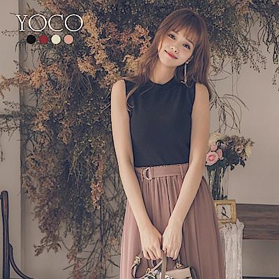 東京著衣-yoco 優雅百搭多色修身針織背心(共四色)
