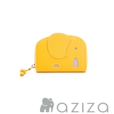 aziza 象型分層零錢包 黃