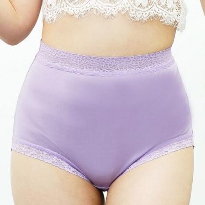 闕蘭絹典雅舒適100%蠶絲內褲-88425(紫)