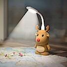 【Bone】公仔行動電源6700mAh+ LED 燈組-麋鹿
