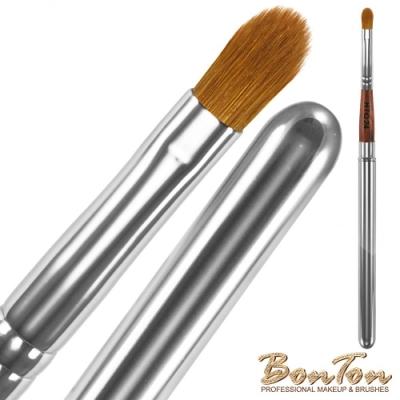 BonTon 原木系列 攜帶式圓長/唇刷 RTQ24 頂級100%貂毛