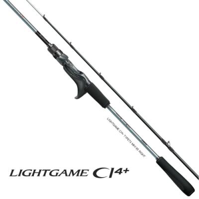 【SHIMANO】LIGHTGAME CI4+ TYPE82 HH180L(左) 船竿