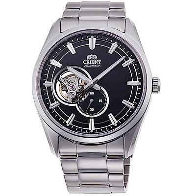 ORIENT東方錶SEMI-SKELETON系列經典鏤空機械錶(RA-AR0002B)