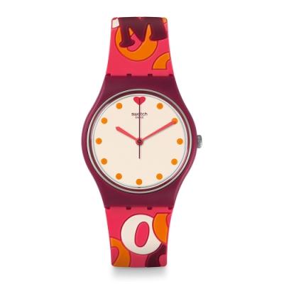 Swatch Gent 原創系列手錶 INTENSAMENTE -34mm