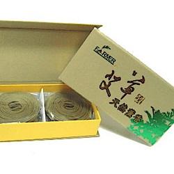 艾草天然薰香40環x6盒