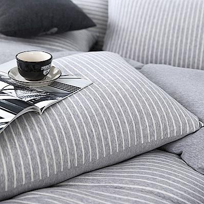 OLIVIA 天竺棉  仲夏  美式薄枕套 兩入   100%新疆純棉