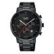 ALBA 雅柏 休閒獨特計時三眼腕錶-黑43mm(VD53-X313SD/AT3E01X1) product thumbnail 1