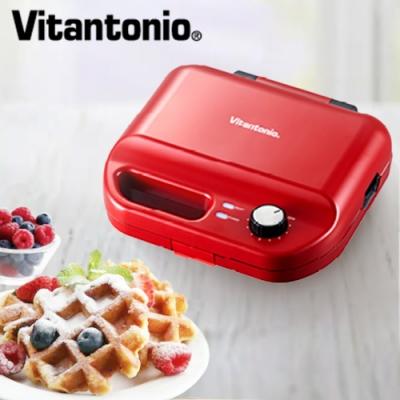 Vitantonio多功能計時鬆餅機 50B(熱情紅)