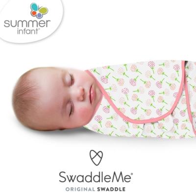 美國 Summer Infant 聰明懶人育兒包巾-粉漫花朵