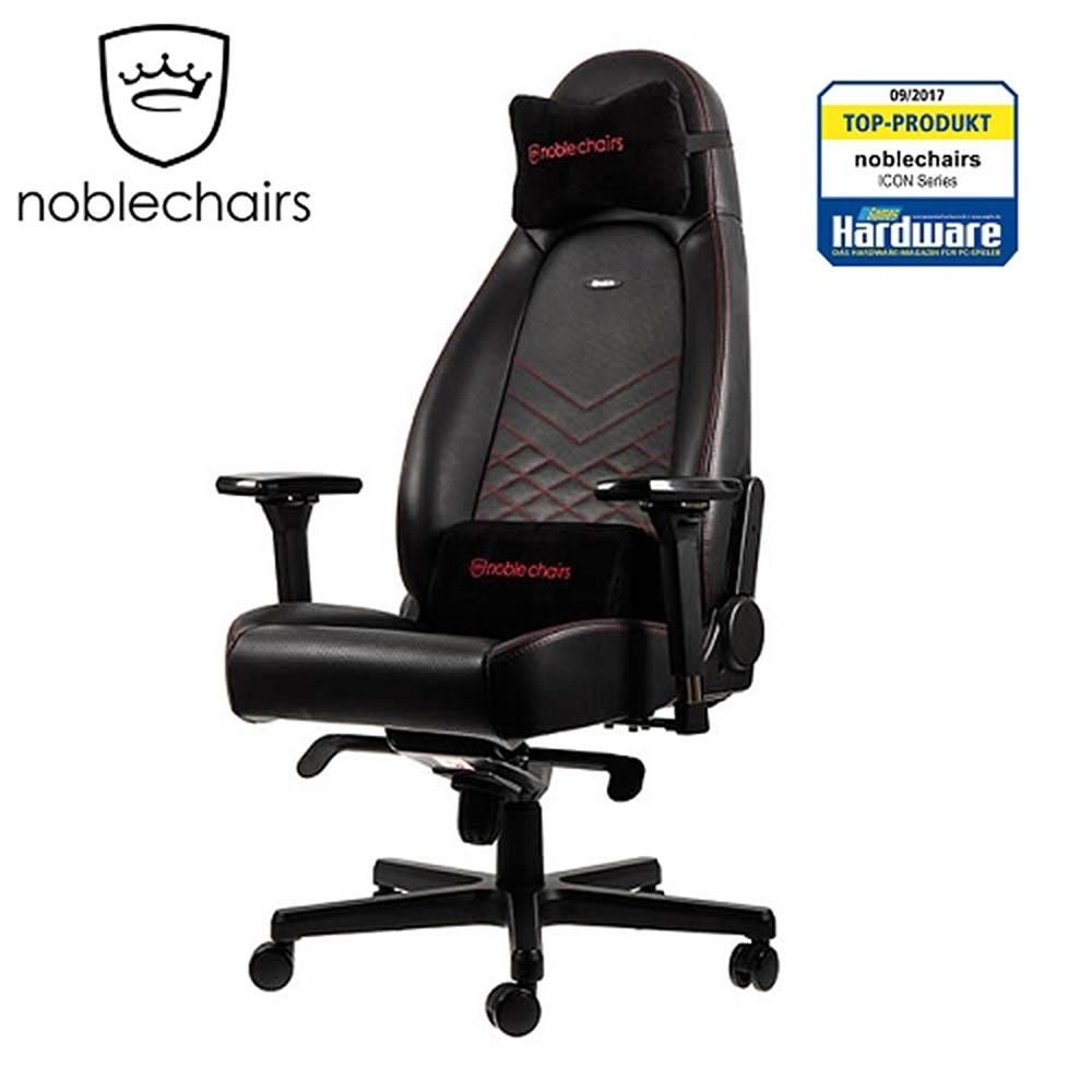 noblechairs ICON PU系列電競椅 - 黑紅