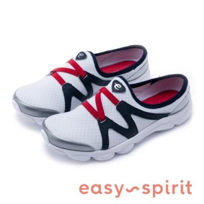 Easy Spirit-seRIPTIDE2 多色款極輕量彈性微包跟拖鞋-白色