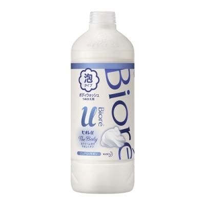 Biore 蜜妮 高彈潤沐浴慕絲 清新皂香 (補充瓶450ml)