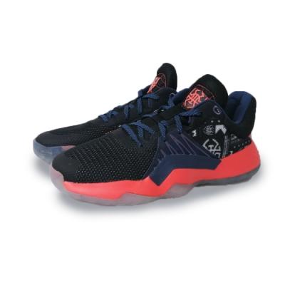 adidas 籃球鞋 運動 米歇爾 緩震 男鞋 黑 橘 EH2001 D.O.N. ISSUE 1