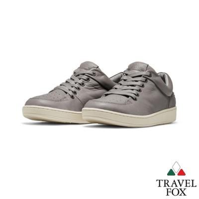 TRAVEL FOX(男)Classic 900 Low低筒經典休閒鞋 -灰