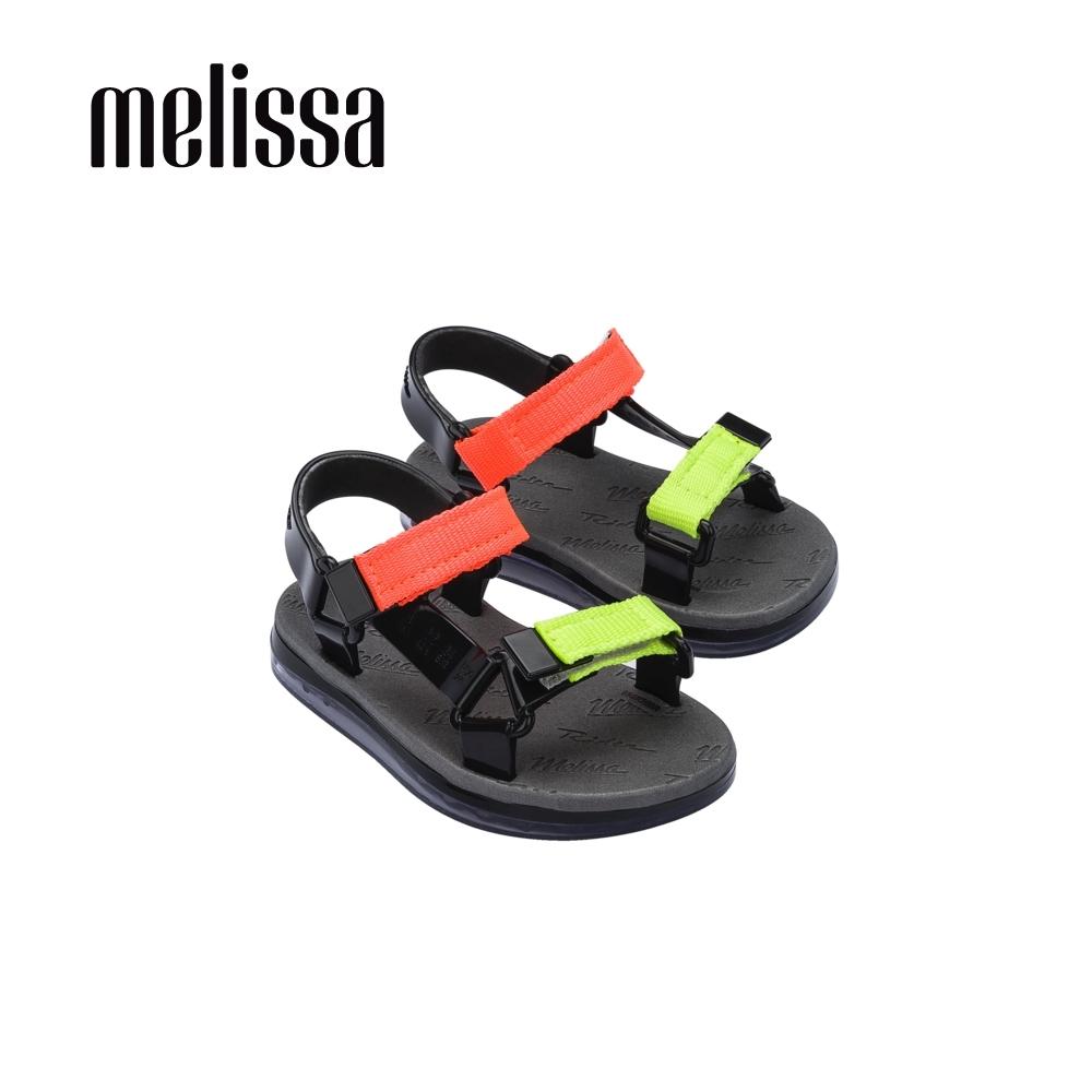 Melissa x Rider Good Time潮流休閒涼鞋 寶寶款-橘黃雙色