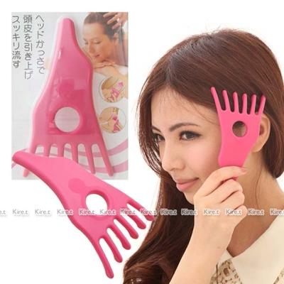 Kiret 日本 頭皮SPA 舒壓五爪按摩器-五指頭部按摩器 五指按摩器 按摩頭皮