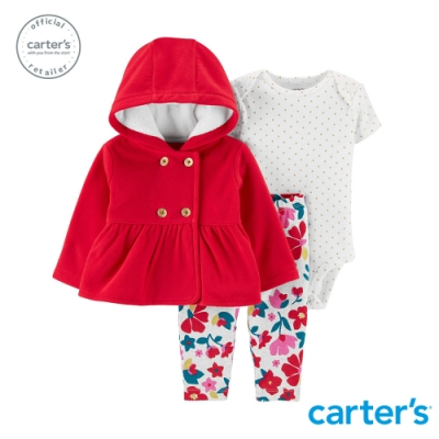 Carter s台灣總代理 小紅帽外套3件組套裝