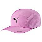 PUMA-男女慢跑系列棒球帽-淺淡紫
