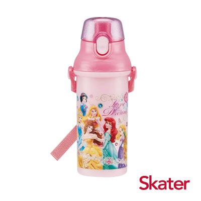 Skater直飲冷水壺 (480ml)迪士尼公主Dream