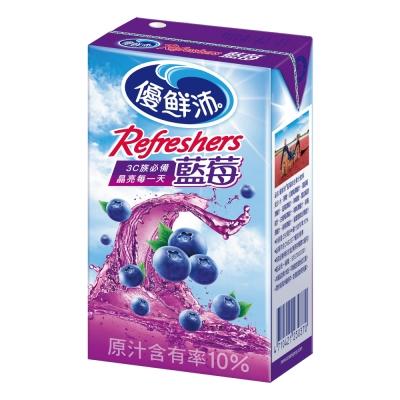 優鮮沛 藍莓綜合果汁(250mlx24入)