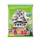 日本Unicharm消臭大師 尿尿後消臭貓砂-森林香 (5Lx4包/箱)