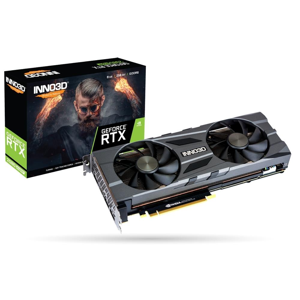 INNO3D映眾 RTX2080 SUPER 8GB TWIN X2 OC 顯示卡