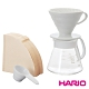 HARIO V60白色02濾杯咖啡壺組 600ml/ XVDD-3012W product thumbnail 2