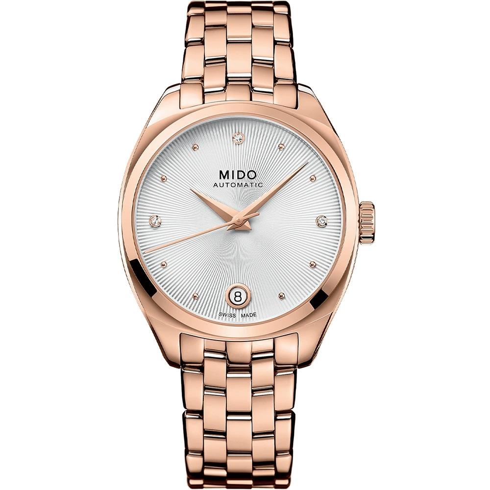 MIDO 美度 Belluna Royal真鑽機械女錶 M0243073303600-33mm