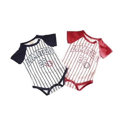 魔法Baby~包屁衣(2件一組) 春夏款嬰兒短袖連身衣  k51772