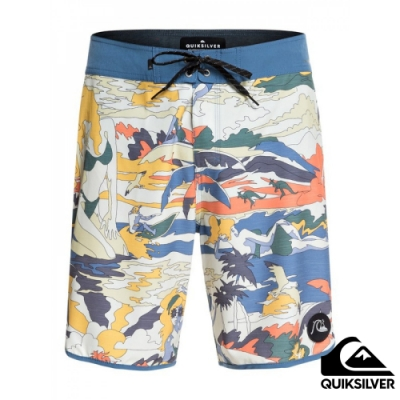 【QUIKSILVER】HIGHLINE FEELIN FINE 19 衝浪褲 米黃