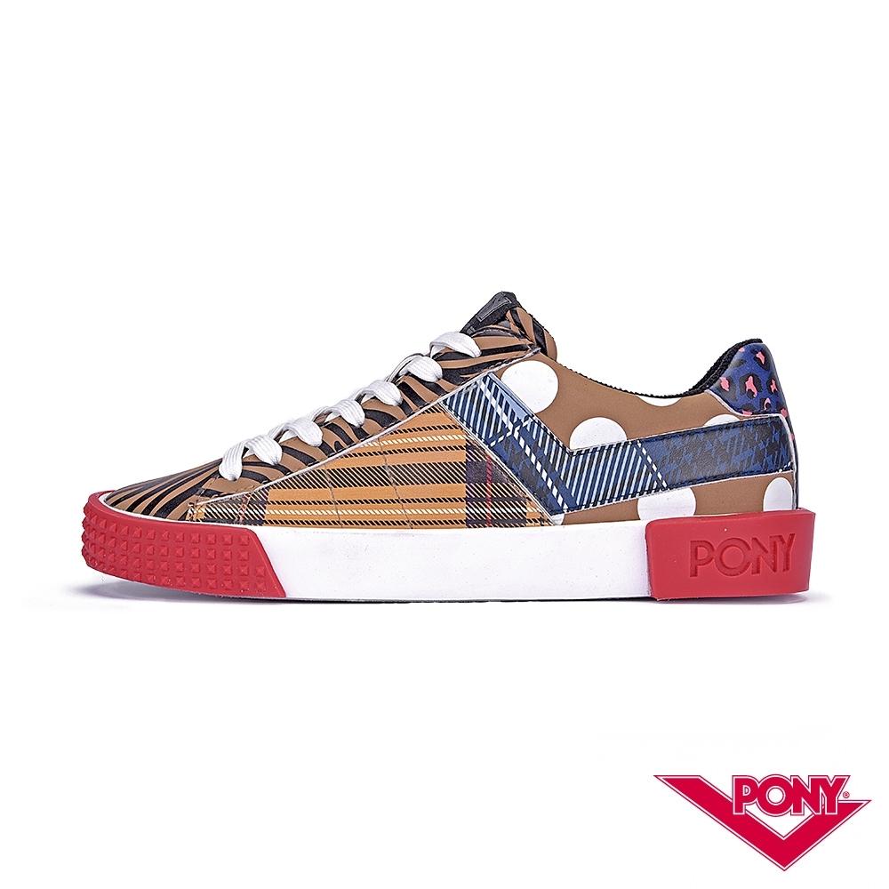 【PONY】Top Star系列顛覆視覺時尚風格休閒鞋 滑板鞋 復古鞋 黃棕