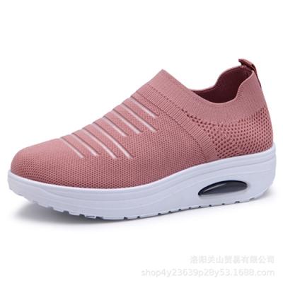 韓國KW美鞋館-悠活城市透氣休閒鞋-粉紅色