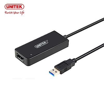 UNITEK USB3.0轉DisplayPort外接顯示卡