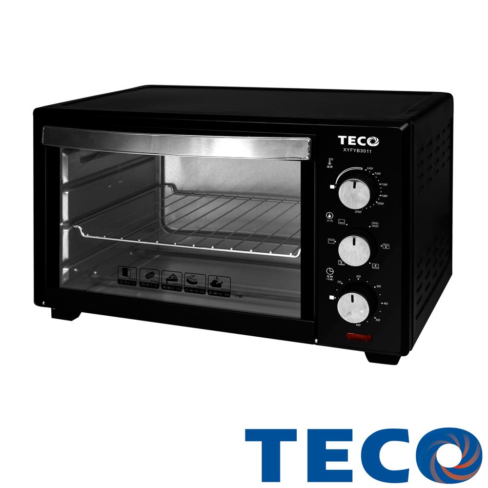 【品牌週】TECO東元 30公升旋風烤箱 XYFYB3011