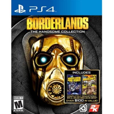 邊緣禁地:帥氣合輯 Borderlands: The Handsome - PS4 英文美版