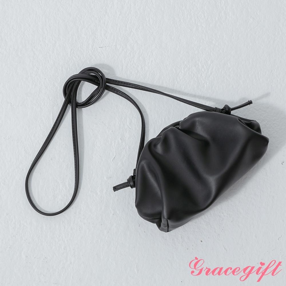 Grace gift-韓系小姐姐雲朵包 黑