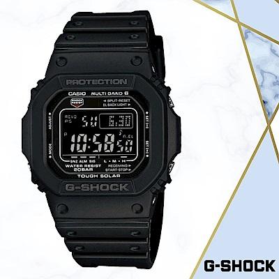 CASIO卡西歐G-SHOCK經典5600進化版電波(GW-M5610-1B)黑色